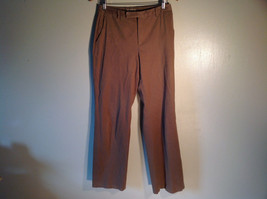 Jones New York Women's Size 6 Casual Pants Medium Earth Tone Brown Velvety Touch