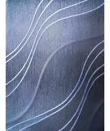 Pierre Cardin Tie Grey Pattern Wave Lines Mens Necktie - $3.50