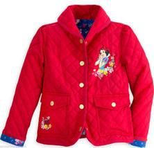 Disney Store Snow White Red Jacket Coat Girls Size 7/8  - $59.95