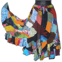 Gypsy Style Patchwork Skirt - $33.99+