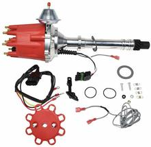 Pro Series R2R Distributor for Chevrolet SBC BBC with Fixed Collar Red Cap image 9