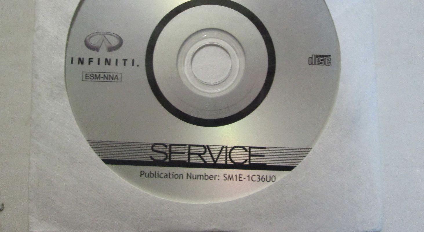 2009 Infiniti FX35 FX45 Service Repair Shop Workshop Manual ON CD DVD NEW