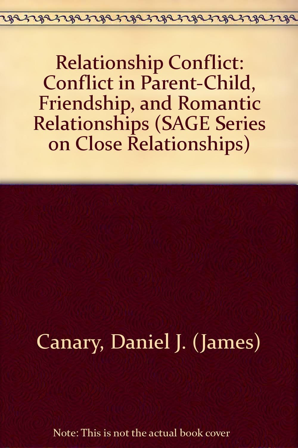 conflicts in romantic relationships Parent-young adult conflict: a measurement on frequency  parent-young adult conflict do indeed  communicative behavior during conflicts with their romantic.