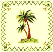 Coconut Palm Cross Stitch Pattern***L@@K*** - $4.95