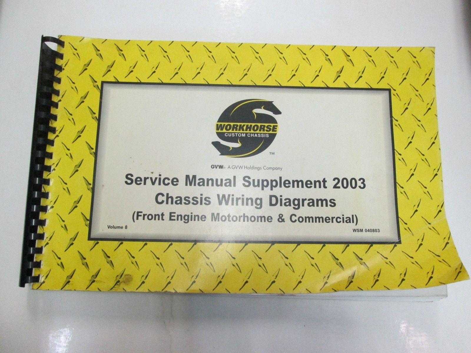 Workhorse Custom Chassis Service Manual And 50 Similar Items Fuse Wiring Schematic Supplement Diagrams Vol 8