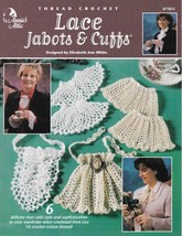 Lace Jabots & Cuffs Thread Crochet Shells Love Knots Pineapples Picots F... - $8.99