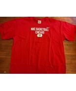 Nike Basketball Chicago Bulls Dynasty T-shirt XL 312 Gray Tag 90s jordan... - $18.04
