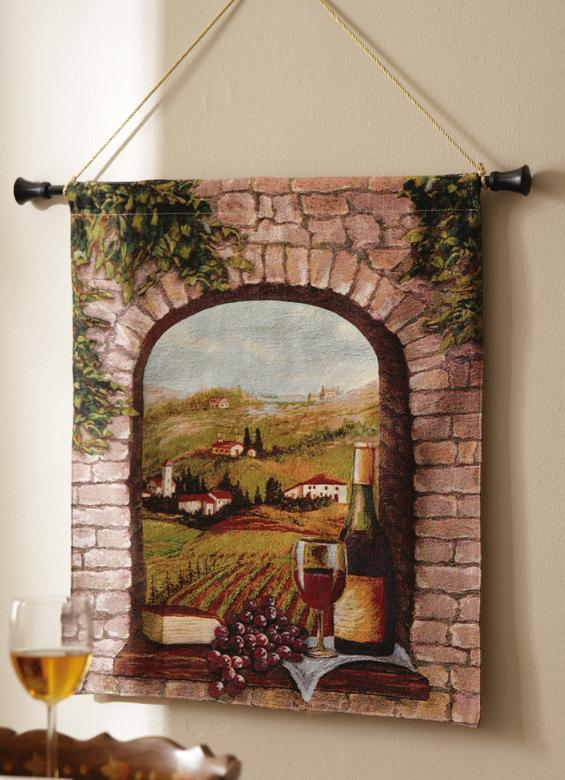 Primary image for Vineyard Scene Hanging Wall Tapestry
