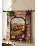 Vineyard Scene Hanging Wall Tapestry - $21.95