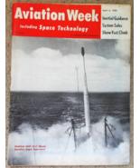 Aviation Week-Apr 6, 1959-Modified USAF X-17 Missile - $12.95