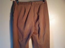 Jones New York Women's Size 6 Casual Pants Medium Earth Tone Brown Velvety Touch image 5
