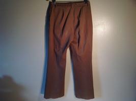 Jones New York Women's Size 6 Casual Pants Medium Earth Tone Brown Velvety Touch image 4