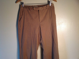 Jones New York Women's Size 6 Casual Pants Medium Earth Tone Brown Velvety Touch image 2