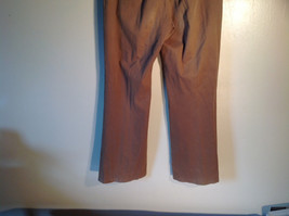 Jones New York Women's Size 6 Casual Pants Medium Earth Tone Brown Velvety Touch image 6