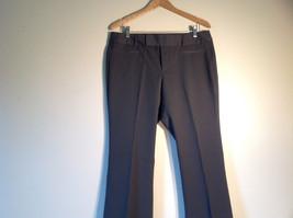 GAP Women's Size 12 / 12R Business Casual Pants Dark Charcoal Gray Viscose Blend image 2