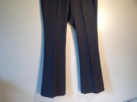 GAP Women's Size 12 / 12R Business Casual Pants Dark Charcoal Gray Viscose Blend image 3