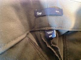 GAP Women's Size 12 / 12R Business Casual Pants Dark Charcoal Gray Viscose Blend image 6
