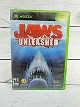 Jaws Unleashed (Microsoft Xbox, 2006) Complete with Instruction Booklet - $8.50
