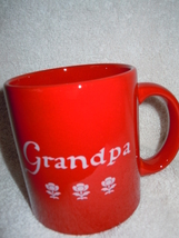 Grandpa You Are Special Today Red Mug Waechtersbach New - $6.99