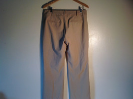 Talbots Women's Size 10 Business Casual Pants Curvy Fit Beige Camel Tan Brown image 4