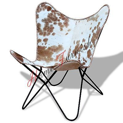 Leather Handmade Chairs Hardoy Butterfly Leather Chair Hide Cowhide Furniture