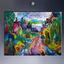 Beatty Drive, Congleton oil painting by Natalia... - $29.99