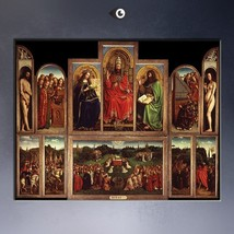 THE GHENT ALTAR, POLYPTYCH WITH THE ADORATION O... - $29.99