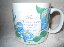 Nurse Healing Hands Mug Papel New - $4.99