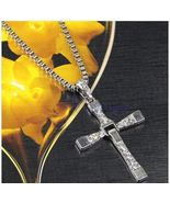 Vin Diesel Doms Dominic Toretto's Cross Fast and Furious Pendant Chain Necklace - $4.99