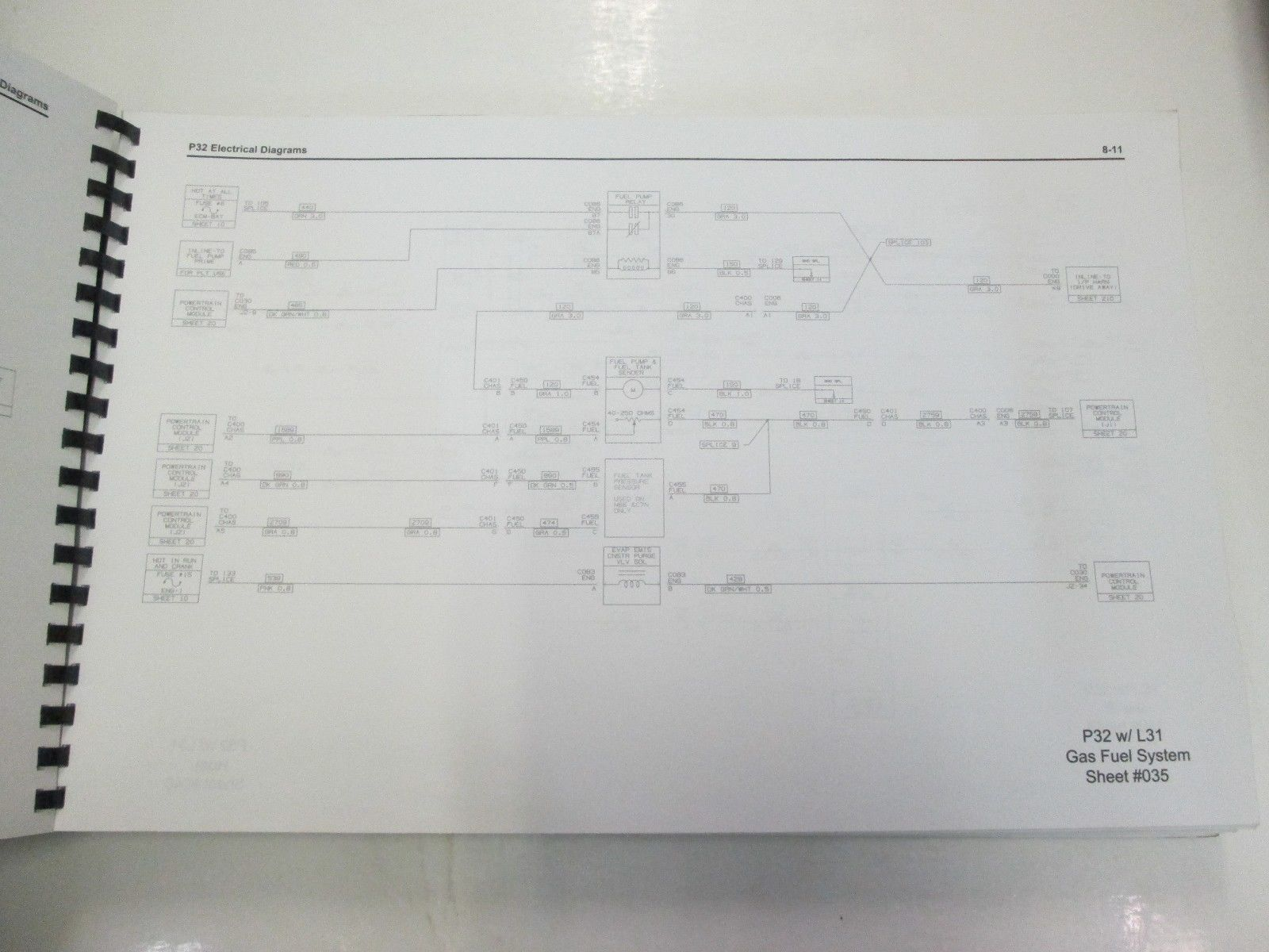 Workhorse P32 Wiring Diagram Electrical 2004 Custom Chassis Service Manual And 50 Similar Items