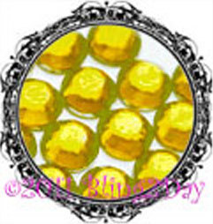 Primary image for 1440 of 3MM - CITRINE - Yellow - Rhinestones Iron on Hot Fix 10 gross - 10ss