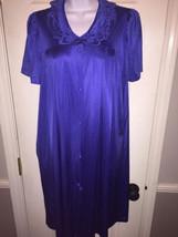 Vanity Fair Vintage Royal Blue Nightgown Sz Sma... - $14.99