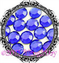 1440 of 3MM - COBALT - Royal Blue - Rhinestones Iron on Hot Fix 10 gross... - $5.99