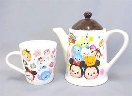NEW Disney Tsumtsum premium Teapot & cup set MickeyTokyo JAPAN Free ship... - $58.41