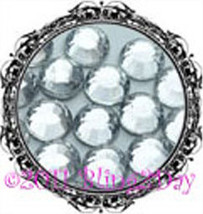 1440 of 3MM - CLEAR - Rhinestones Iron on Hot Fix 10 gross - 10ss ss10 L... - $5.99