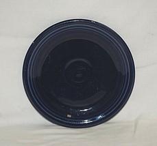 """Vintage Genuine Older Fiesta Homer Laughlin 7-1/8"""" Cobalt Blue Cake Salad Plate - $19.79"""