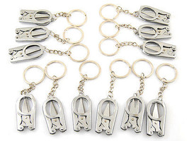 Mini Scissors Metal Key Chain 12 pieces Free Shipping - $14.84