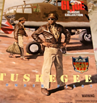 G.I. Joe (AA)- TUSKEGEE BOMBER PILOT Classic Collection Soldier Action F... - $28.90