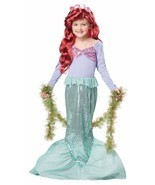 California Costumes Toys Little Mermaid Costume Kid Child Halloween 00246 - $27.20
