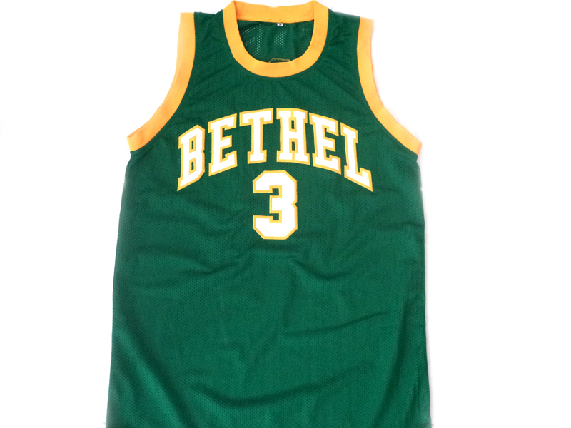 Allen Iverson #3 Bethel High School Basketball Jersey Green Any Size