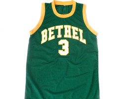 Allen Iverson #3 Bethel High School Basketball Jersey Green Any Size image 1