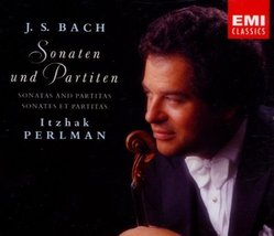 Bach: Sonatas & Partitas [Audio CD] Itzhak Perlman and Johann Sebastian ... - $24.93