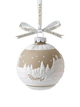 Wedgwood Sleigh Ride Ornament - $23.71