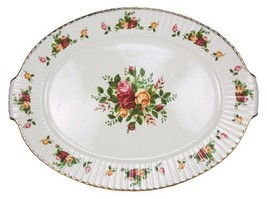 Royal Albert Old Cournty Roses 19-inch Fluted S... - $386.99
