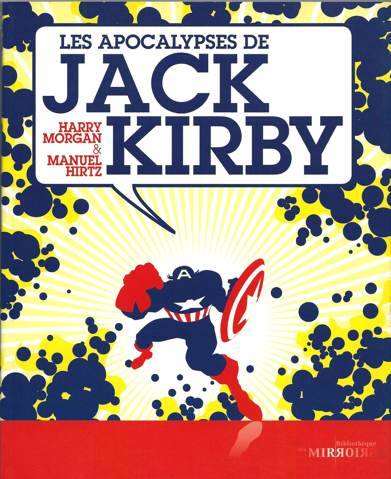 Primary image for Les Apocalypses de Jack Kirby Harry Morgan Manuel Hirtz French Book - 2009