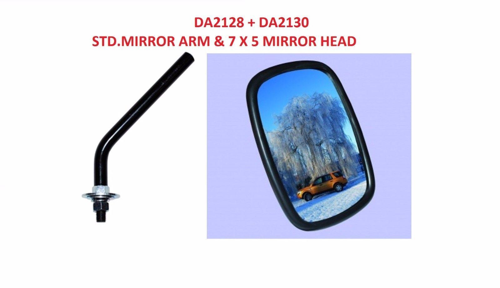 PART 606187 LAND ROVER SERIES 1,2 ROUND TYPE MIRROR HEAD
