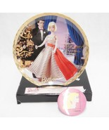 Barbie with Love Holiday Dance 1965 Plate and Button Pinback #188794 Ene... - $10.12