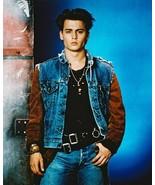 21 Jump Street Johnny Depp Vintage 24X30 Color Movie Memorabilia Photo - $41.95