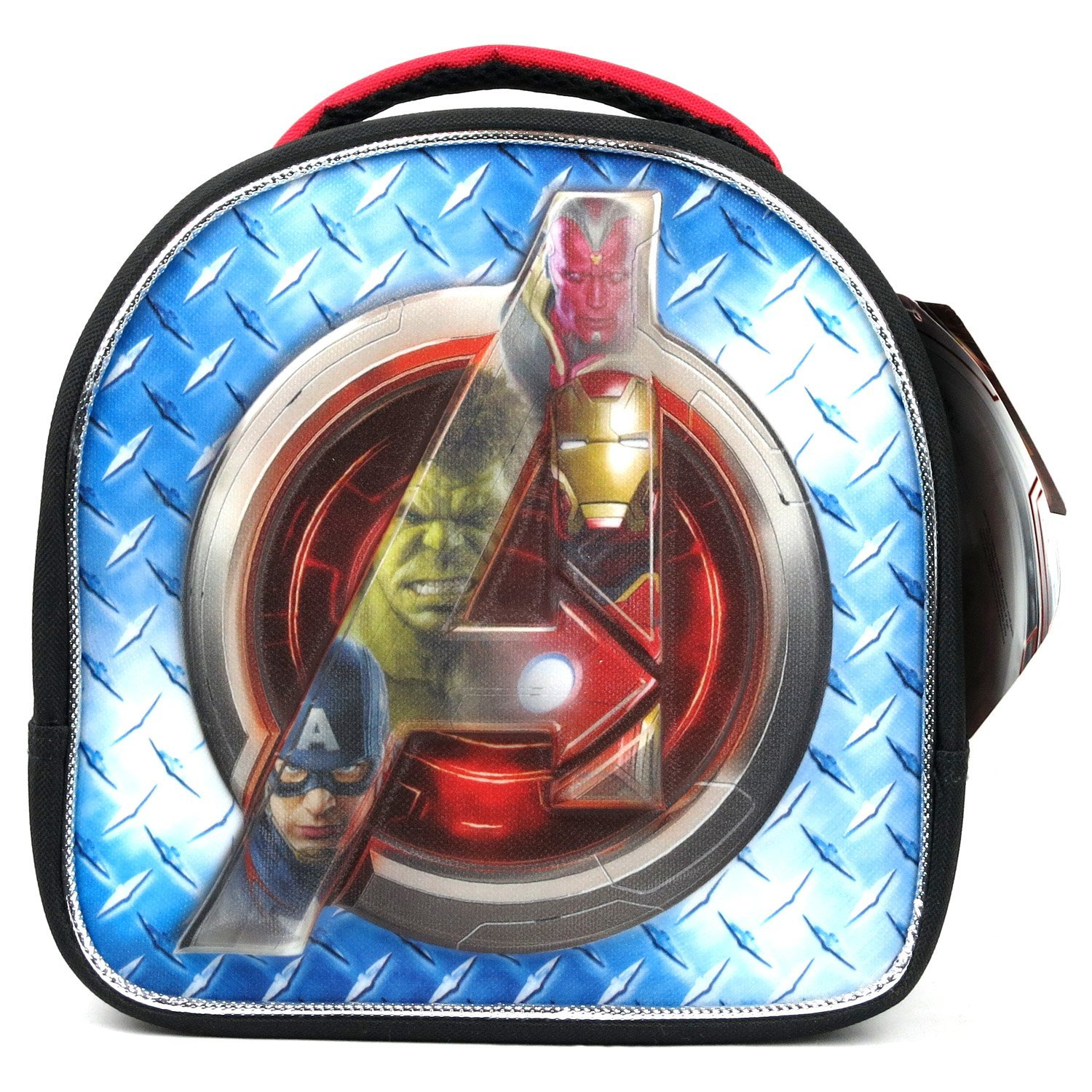 GDC Marvel Avenger Movie Series Single Compartment Soft Insulated Lunch Bag with