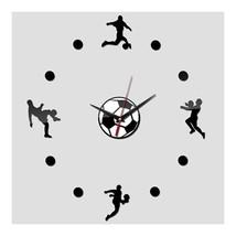 Acrylic Creative Wall Clock DIY Soccer - $20.69